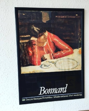 Bonnard Exhibition Poster