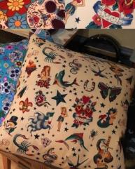 Handmade Cushion by Atomic Doris