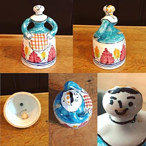 Ceramic Handmade Bell