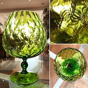 1960s Brandy Glass