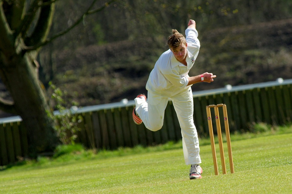 Fast bowling places huge forces through the lumbar spine (lower back) and increases the risk of back pain and stress fractures