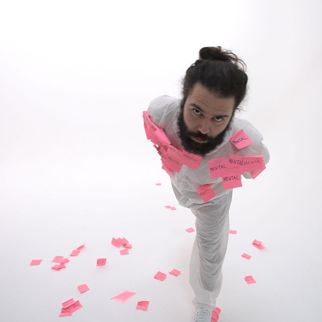 @dogbrain_videos mental pink shoot at @fireeyeland  #pink #Margate #photographystudio #cool