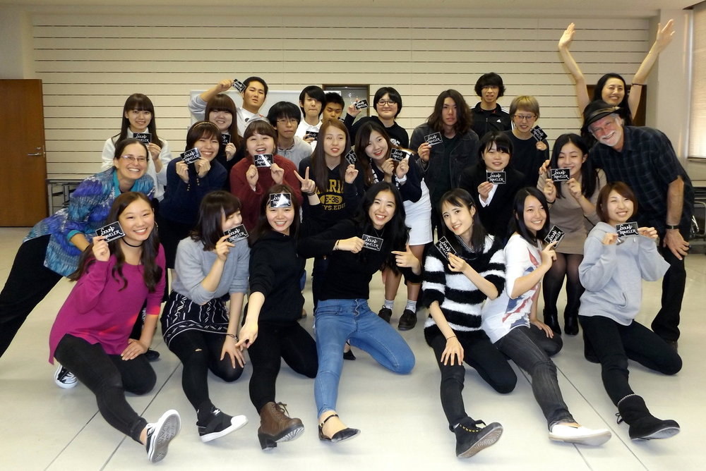 Teaching song & dance workshops in Niigata, Japan (fall 2016)!