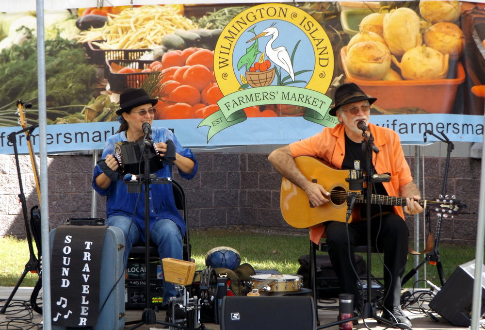 Sound Traveler at the Wilmington Island Farmers' Market (fall 2017)!