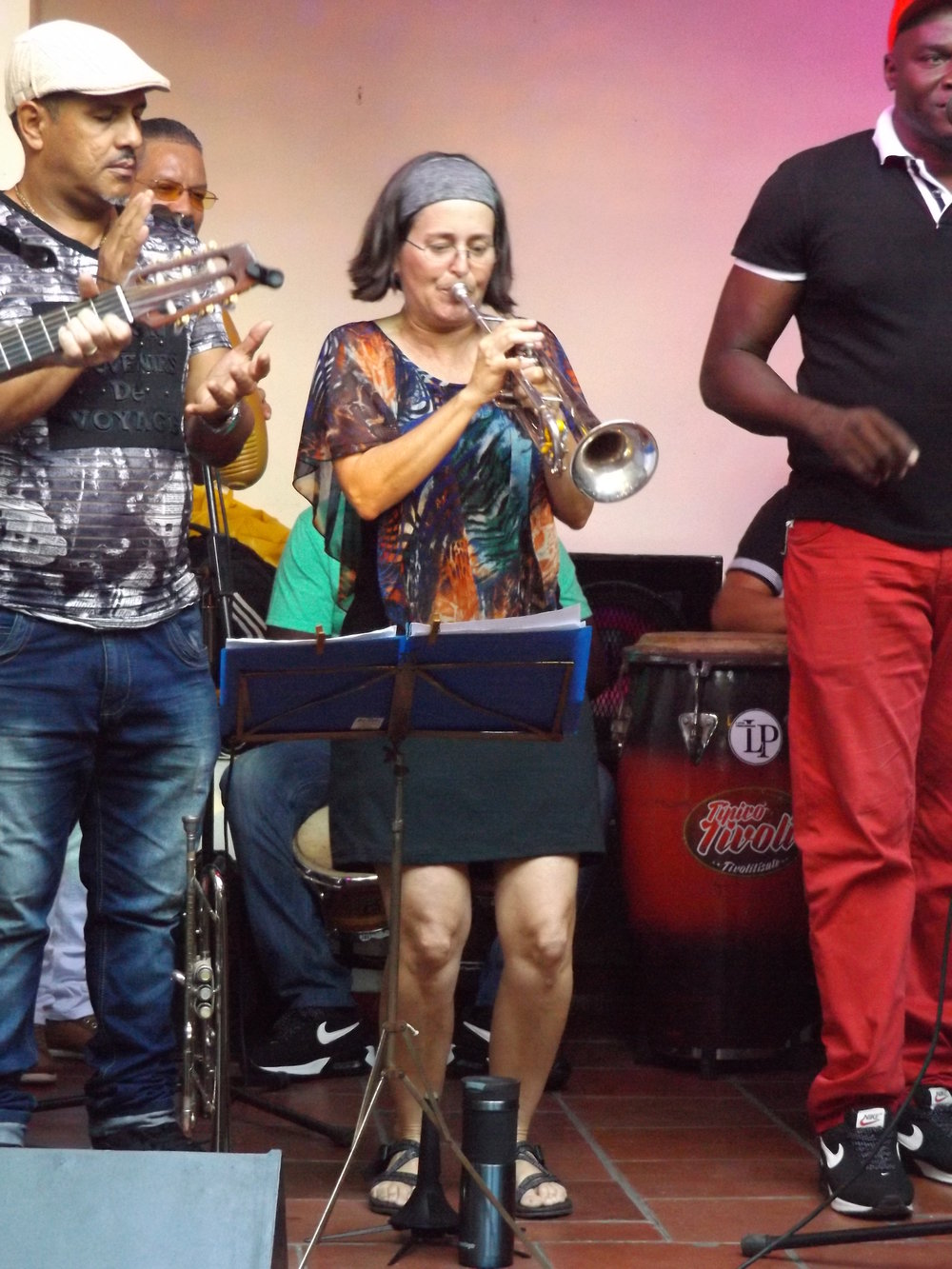 Patty live on stage with Septeto Tipico Tivoli in Cuba (March 2018)!