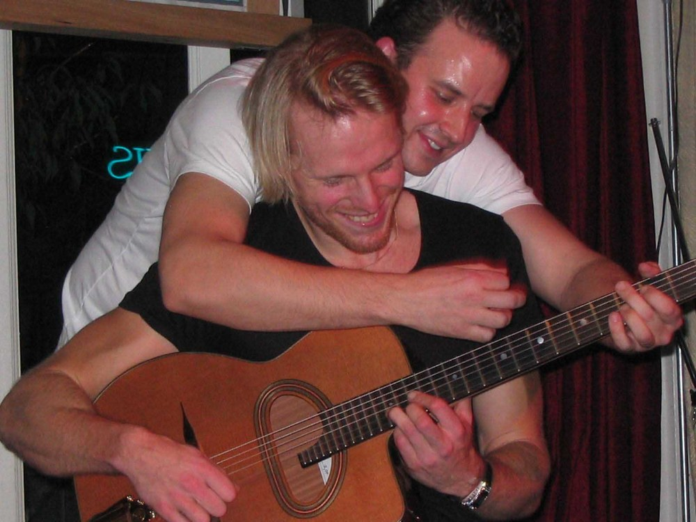 With Andreas Oberg 2006