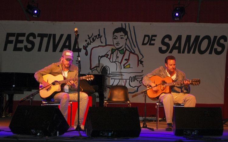 Andreas Oberg at the Festival Jazz de Django Reinhardt, Samois-sur-Seine