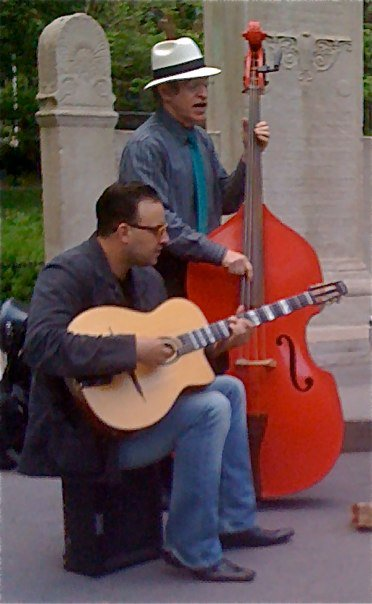 Doc Scanlon in Washington Square Park