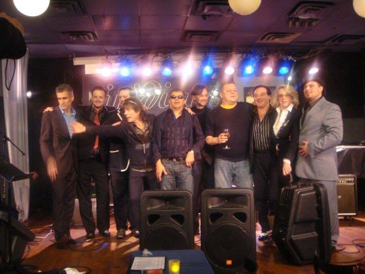 Iridium with Curtis Stigers, Marcel Loeffler, Borislav Strulyev, Dorado & Samson Schmitt and promotor Pat Phillips