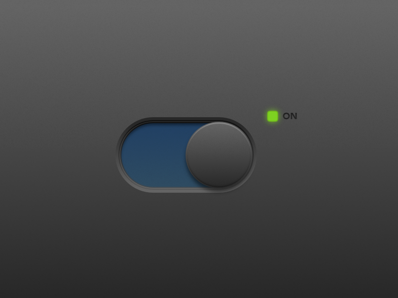 Daily UI #015—On/Off Switch