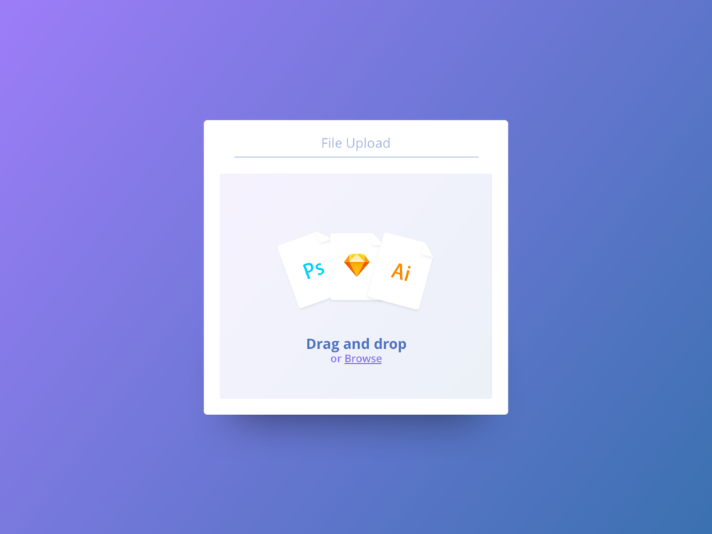 Daily UI #031—File Upload