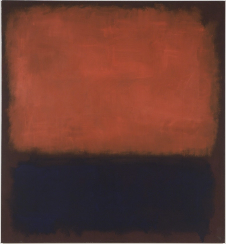No. 14, 1960  1960 Oil on canvas 114 1/2 × 105 5/8 in From the collection of San Francisco Museum of Modern Art (SFMOMA), San Francisco Image courtesy of  Artsy