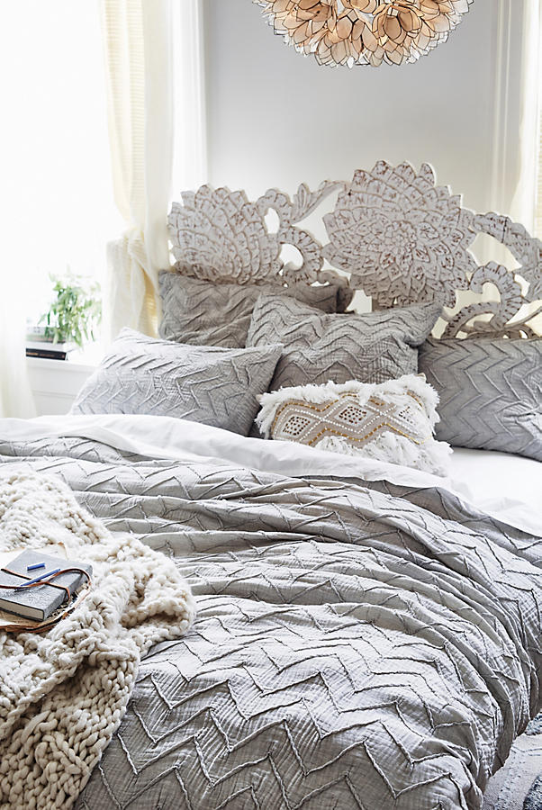 Wedding registry items we love a trace of elegance 1 this cozy eclectic bedding is top notch and would look great in just junglespirit Images