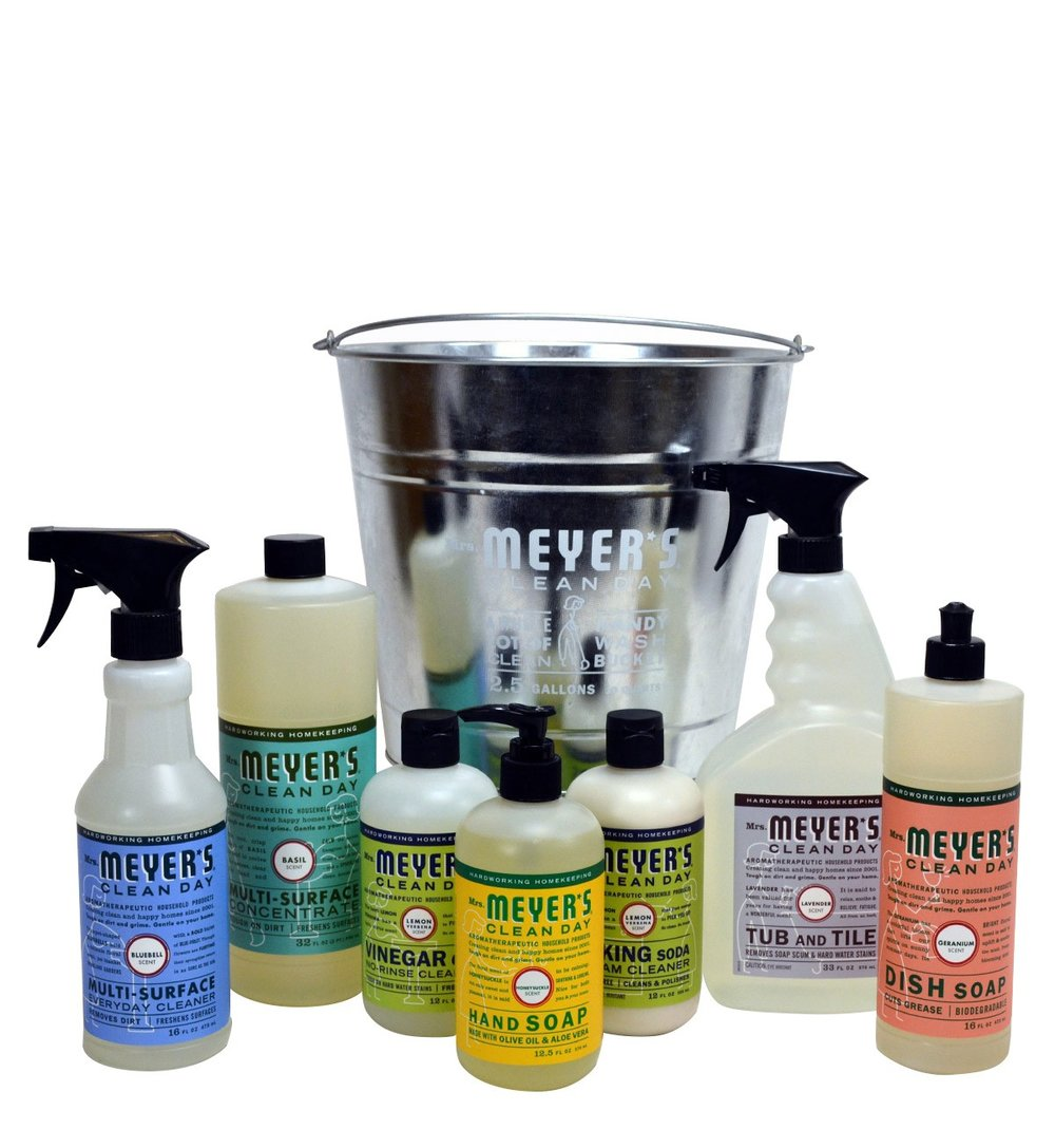 3. Practicality sometimes wins out. However, we LOVE the way that these products smell and it just so happens that this gift set comes in a cute galvanized bucket to make it all the better.   Mrs. Meyers