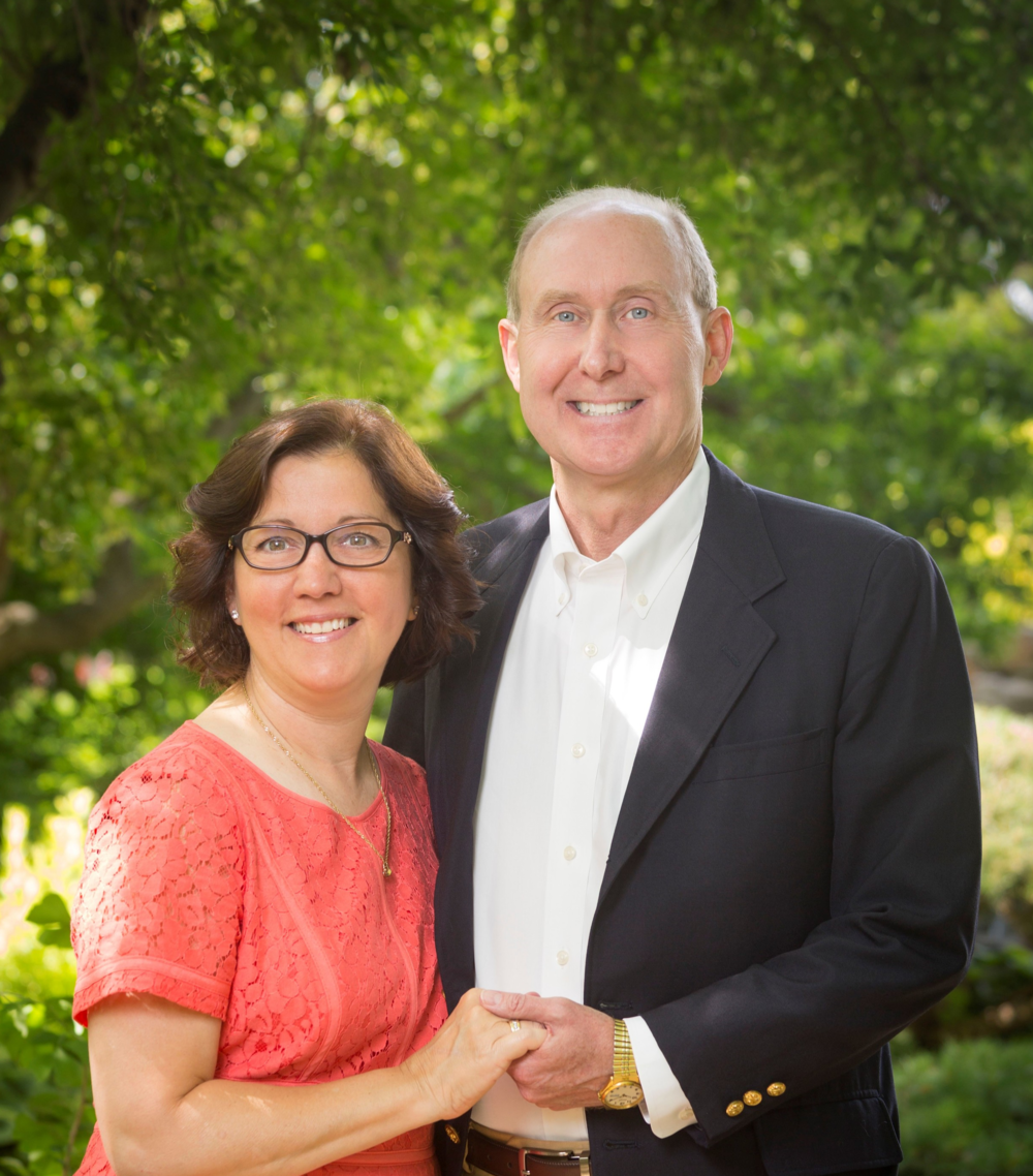 Judge Fitzpatrick and his wife Sharon