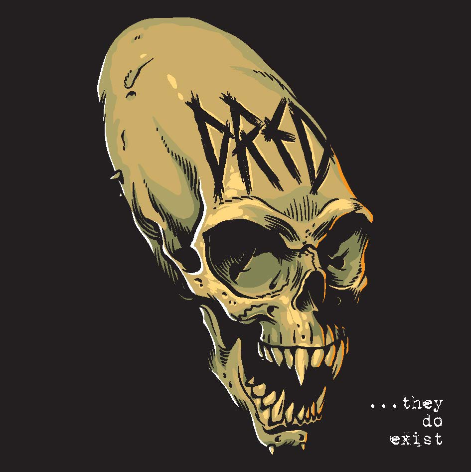 Album They Do Exist Illustrator Mike Faille Dark Art