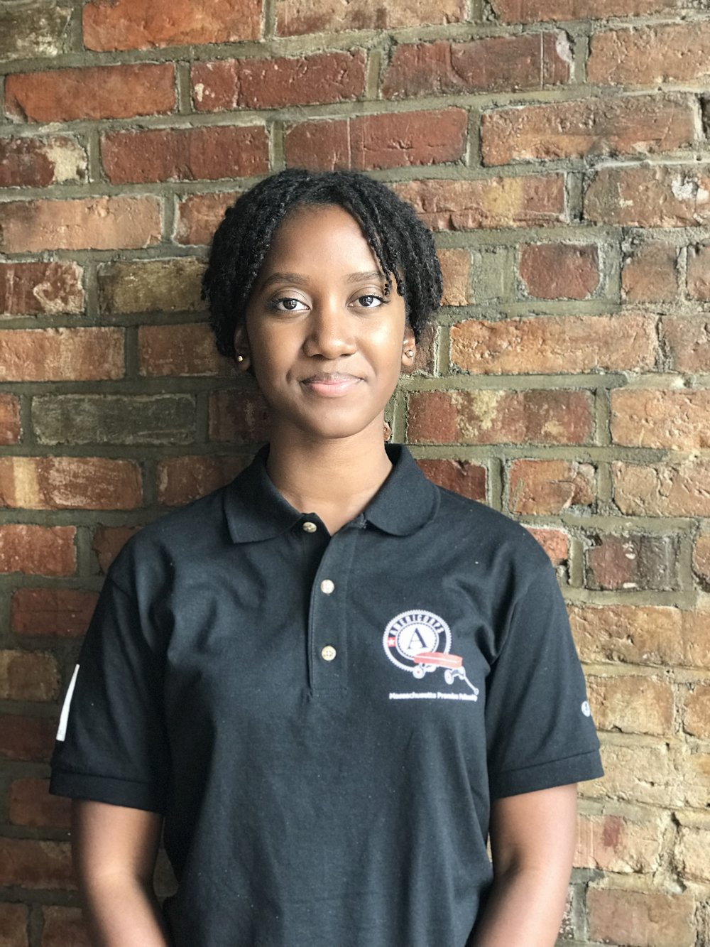 TAMIA BURKETT  MASSACHUSETTS PROMISE FELLOW AMERICORPS MEMBER