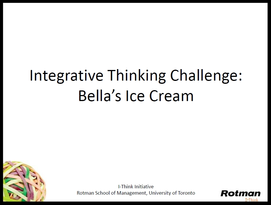 Bella's Ice Cream Challenge Slides