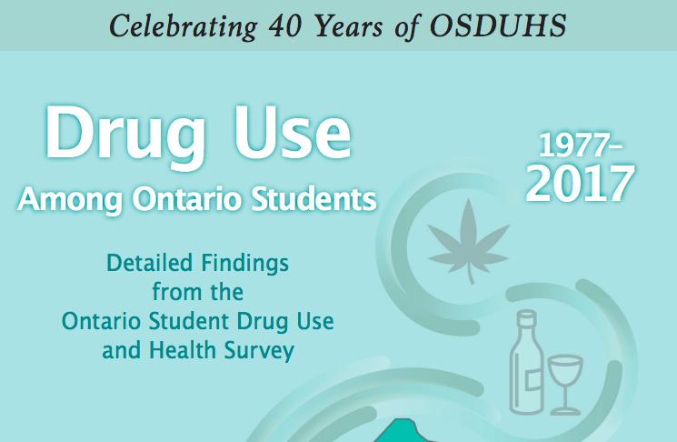 Drug Use Among Ontario Students -