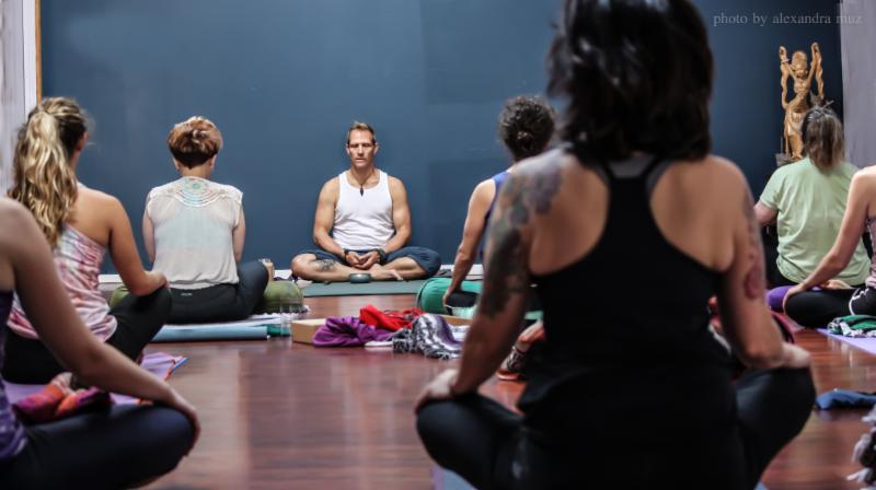 Group Yoga Class with Eric Sparks