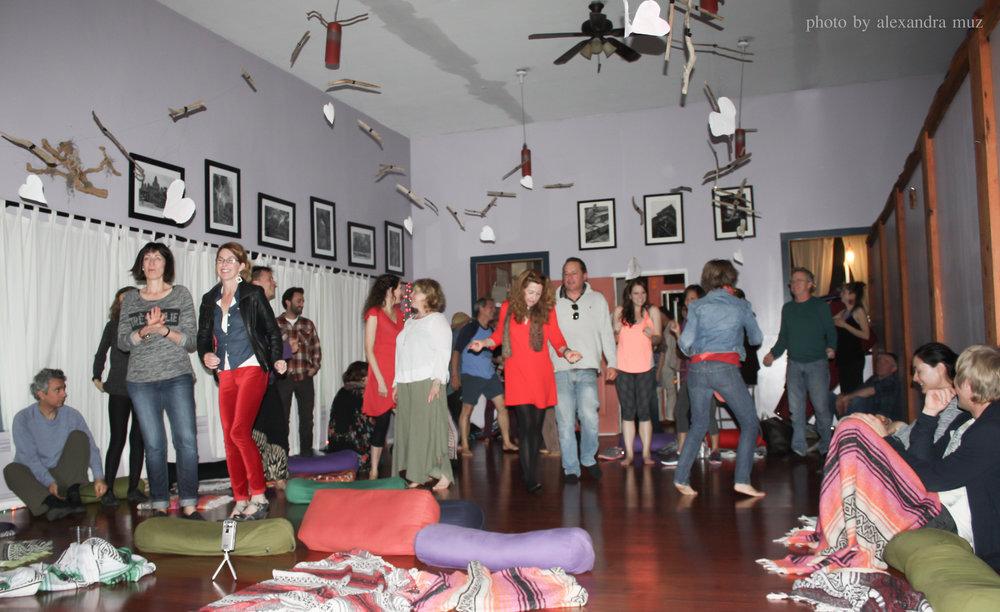 Community Gathering at Purusha