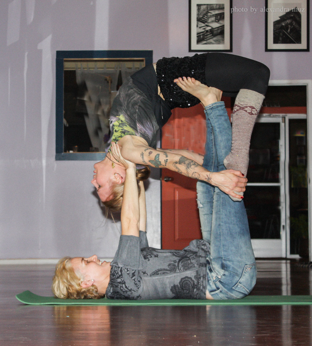 Partner Yoga Fun