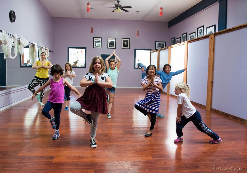 Kids Yoga at Purusha