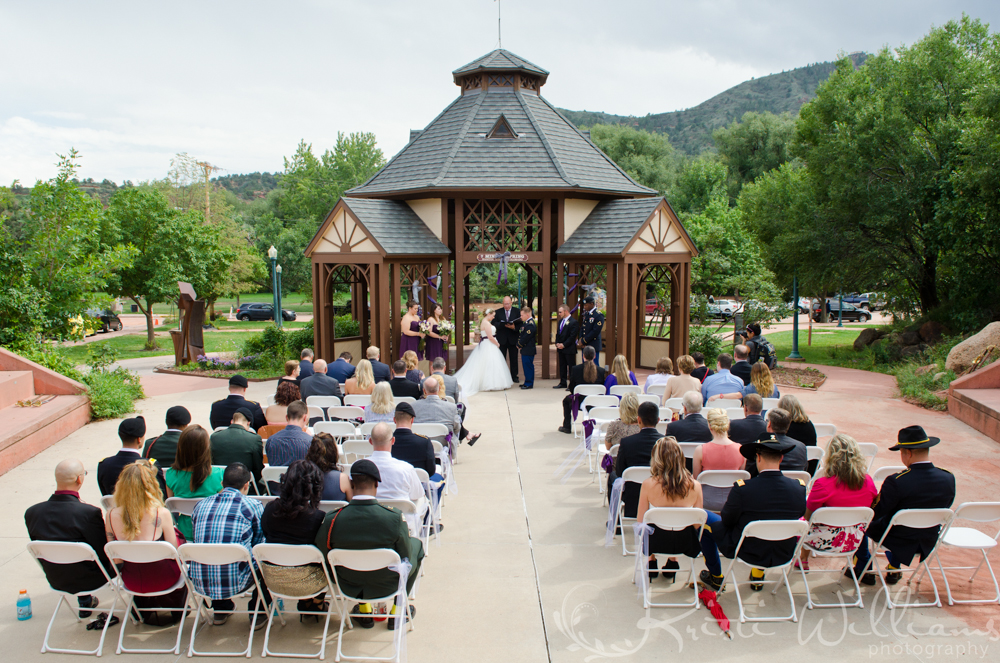 manitou springs gazebo wedding