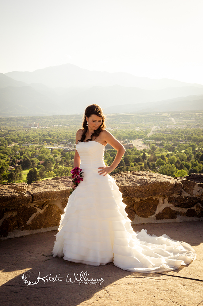 palmer park colorado springs bridal photography