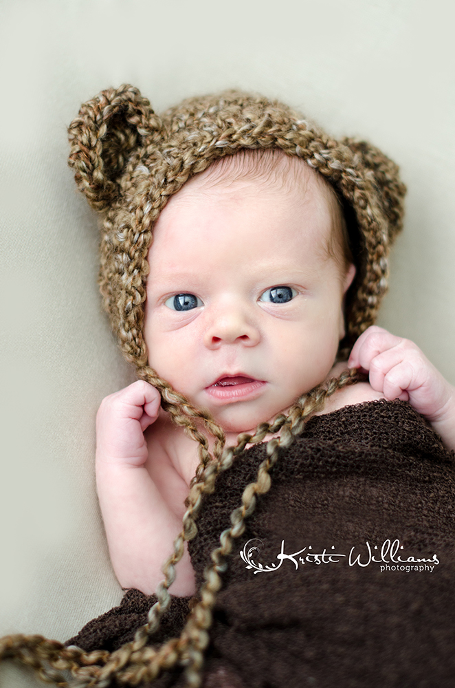 baby newborn boy natural wrap