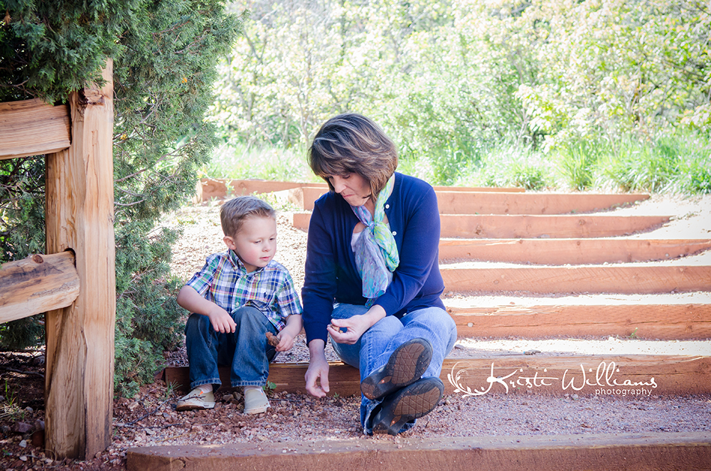 colorado springs garden of the gods family photography