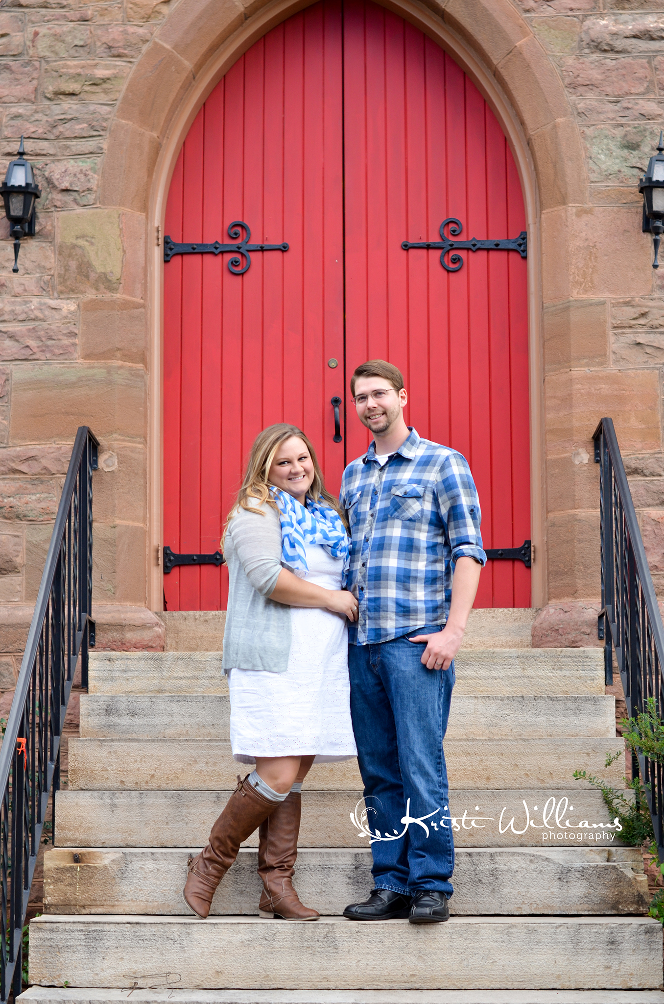 anniversary love story couple photo session red white and blue manitou springs colorado