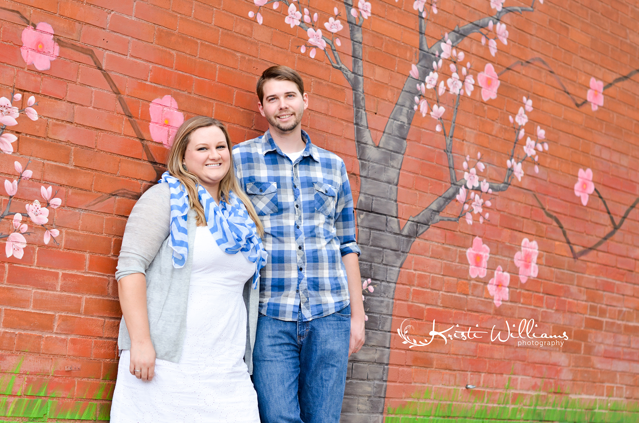 cherry blossoms anniversary love story couple photo session red white and blue manitou springs colorado