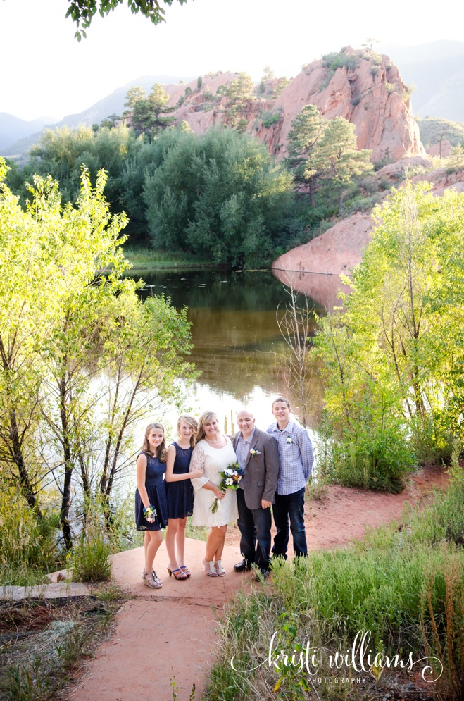 wedding family elopement colorado springs