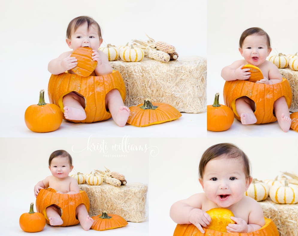 baby milestone 6 month in home photography colorado springs kristi williams photography