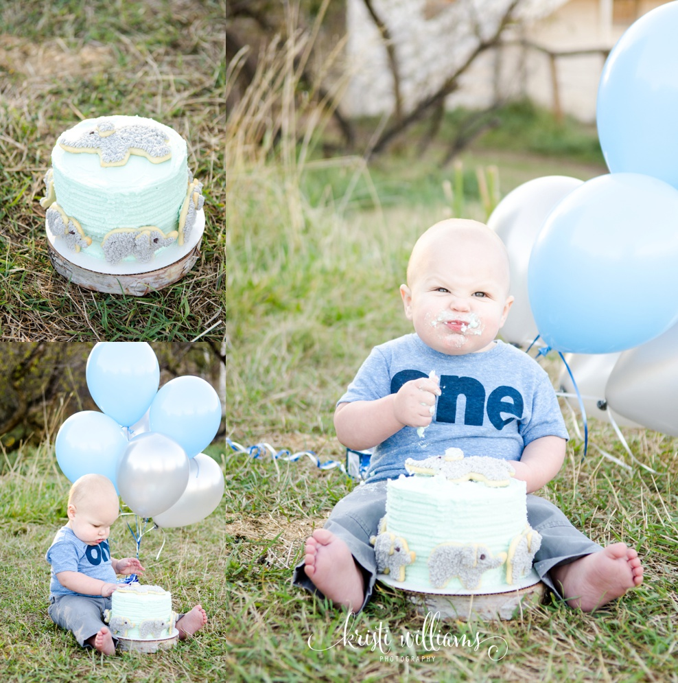 First Birthday Cake Smash & Bubble Bath Photography colorado springs kristi williams photography