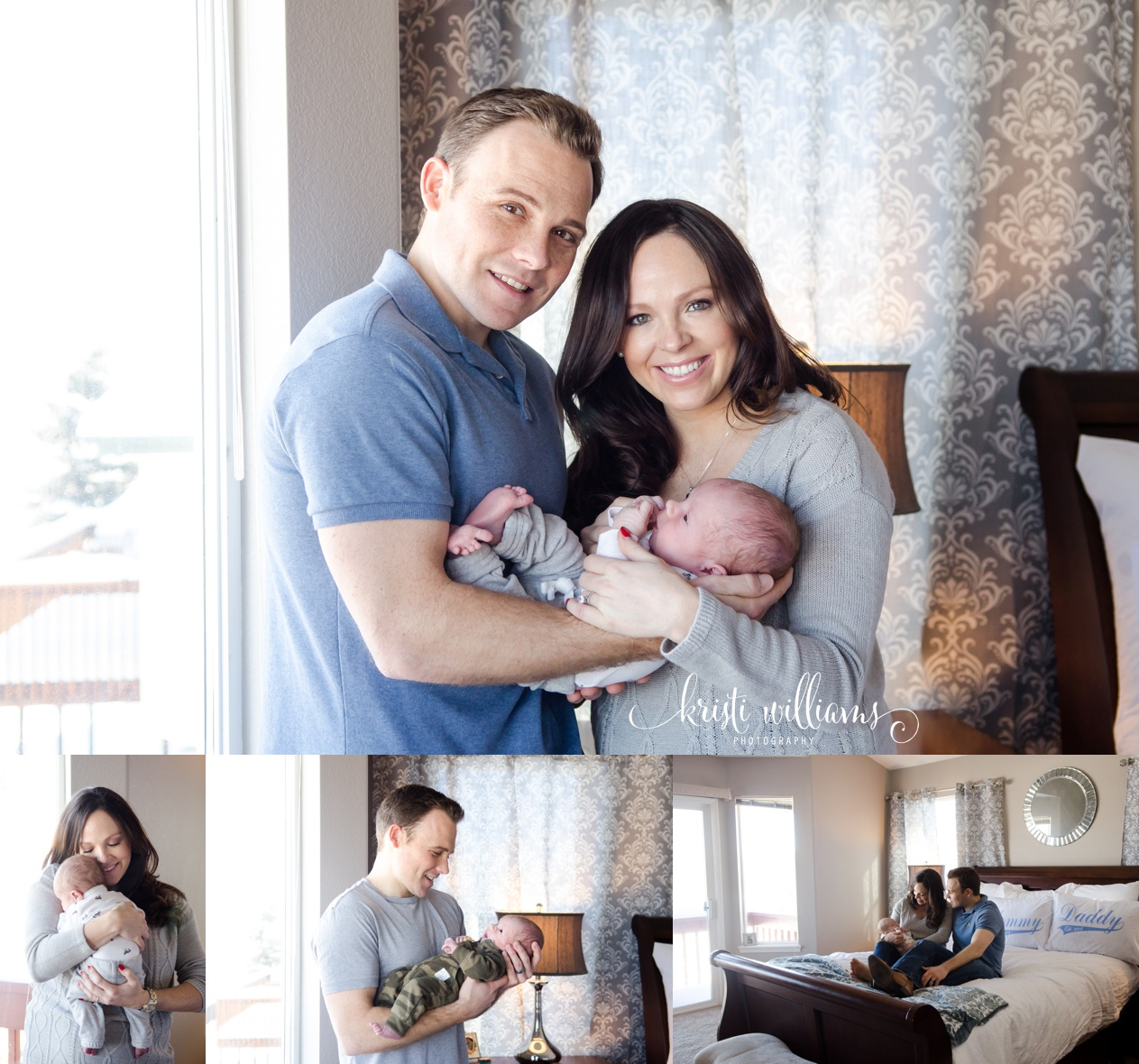 newborn photography in your house www.kristiwilliamsphotography.com
