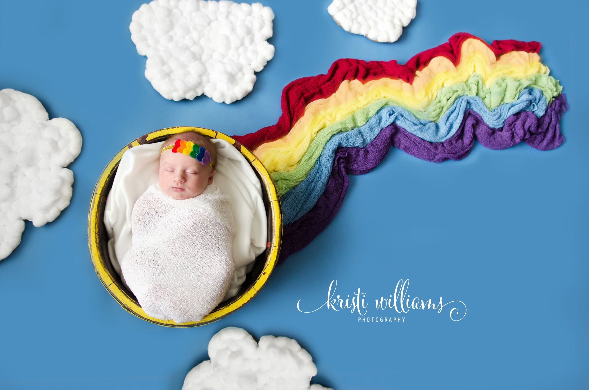 rainbow baby photos newborn Kristi Williams Photography Colorado Springs