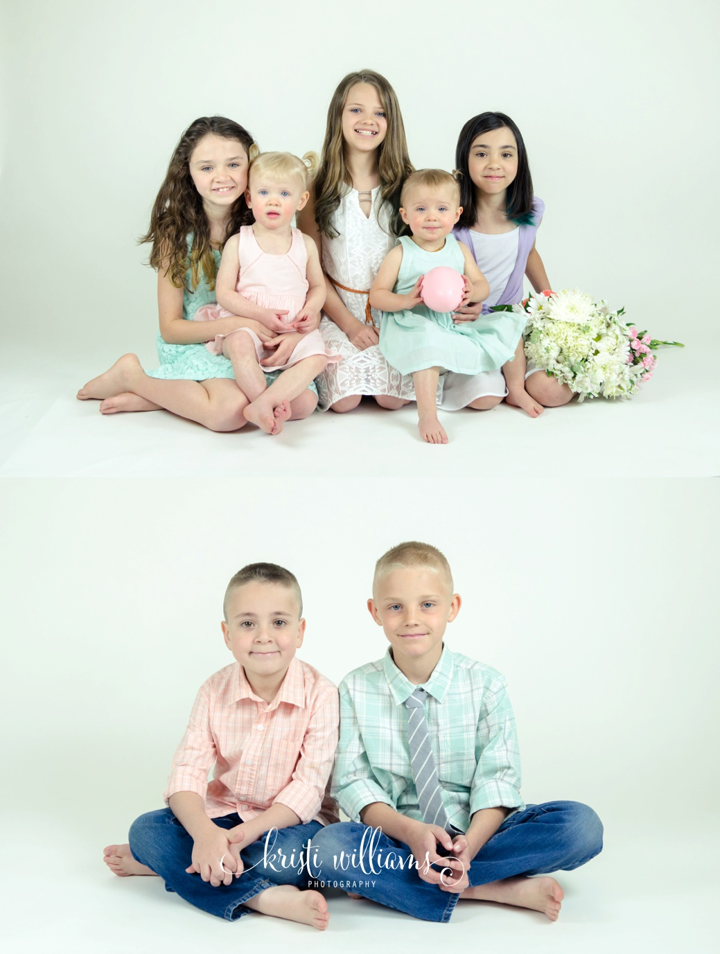 Children portrait session by Kristi Williams Photography