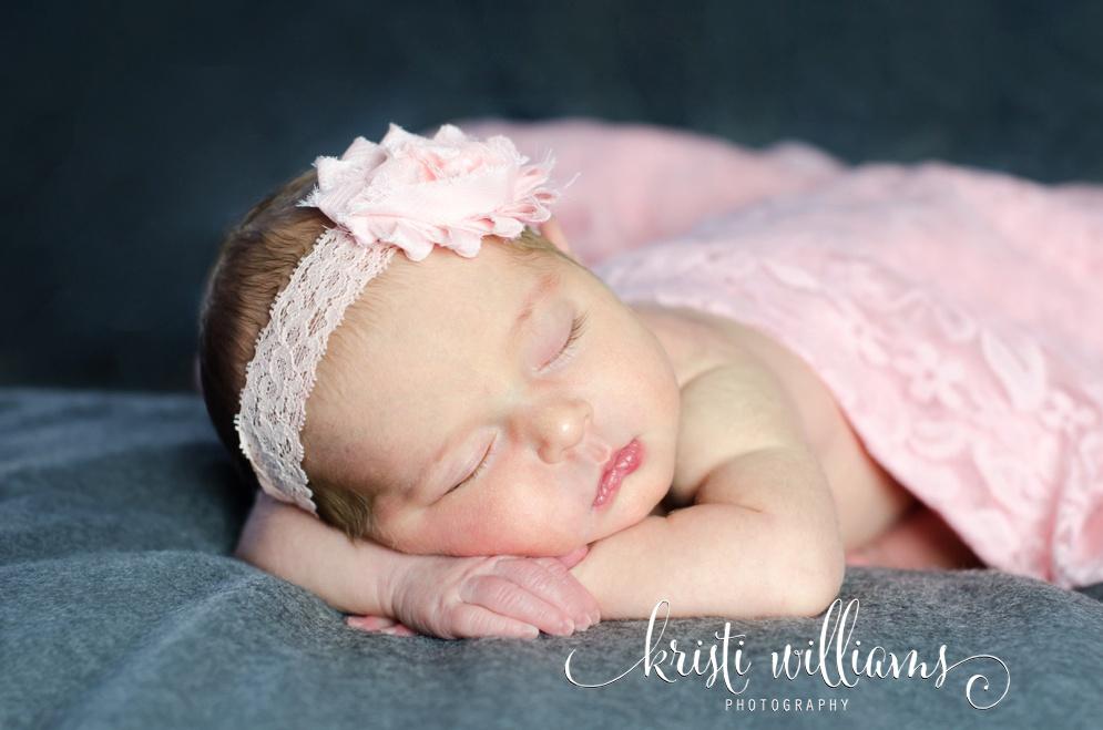 Colorado Springs newborn baby girl Kristi Williams Photography