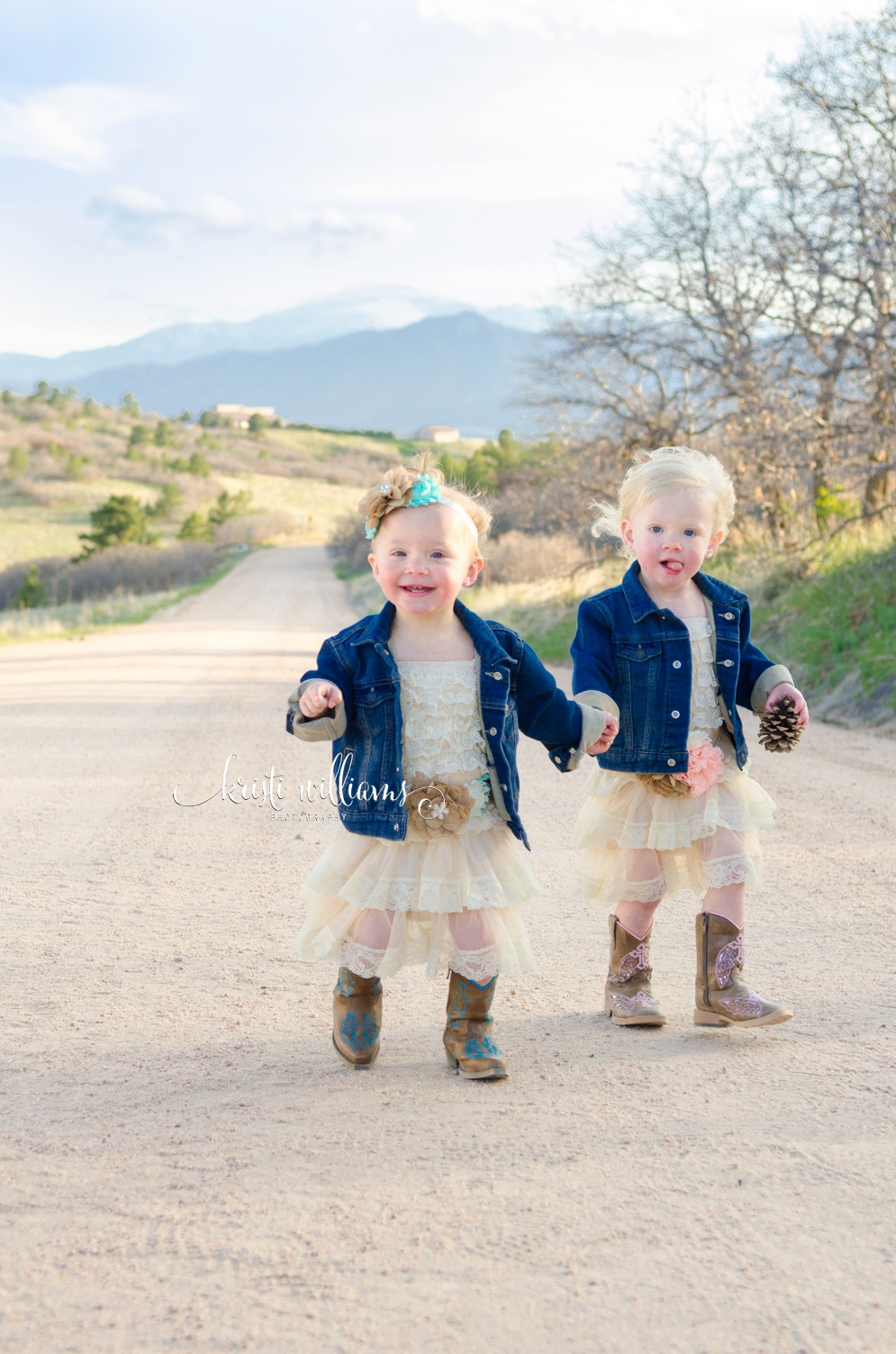 Colorado Springs twin birthday Kristi Williams Photography