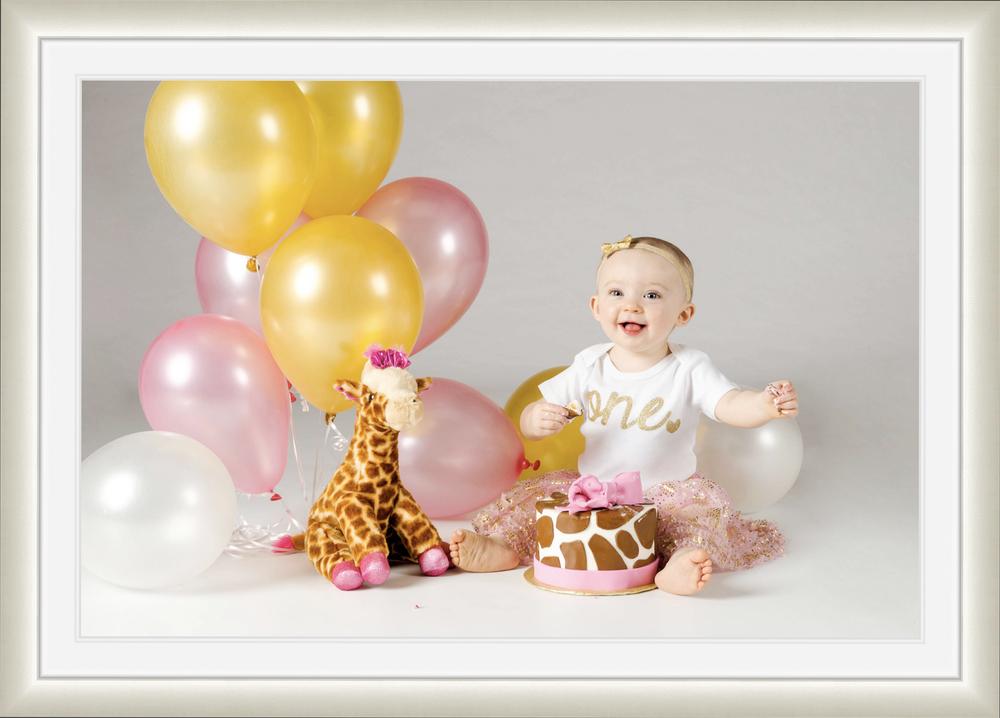 1st Birthday Smash & Splash Photography