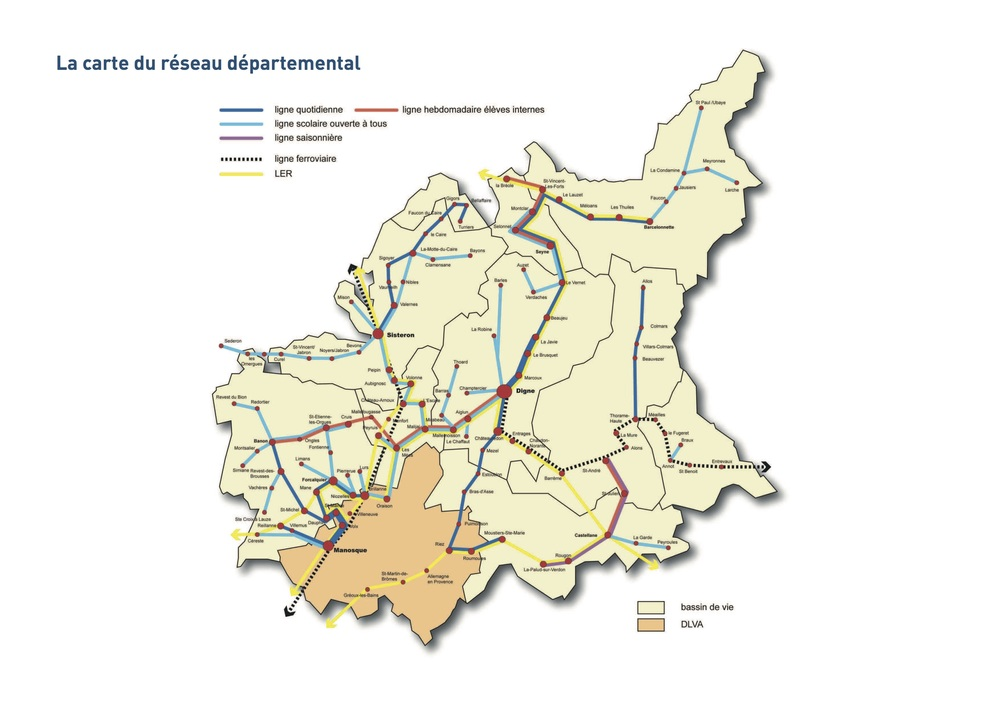 miniature plan réseau Haute Provence