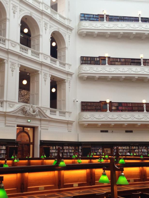 Victorian State Library in Melbourne, Australia.