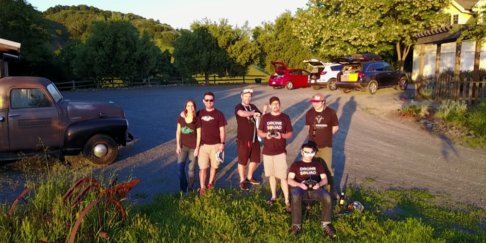 Drone Squad at the FPV Ranch in Northern California