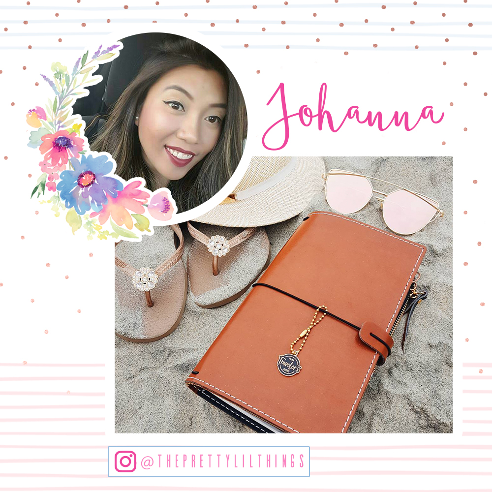 Welcome Johanna!  www.instagram.com/theprettylilthings/