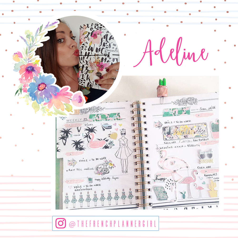 Welcome Adeline!  www.instagram.com/thefrenchplannergirl/