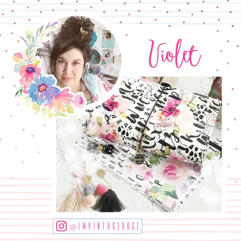 Welcome Violet!  www.instagram.com/imvintagerose/