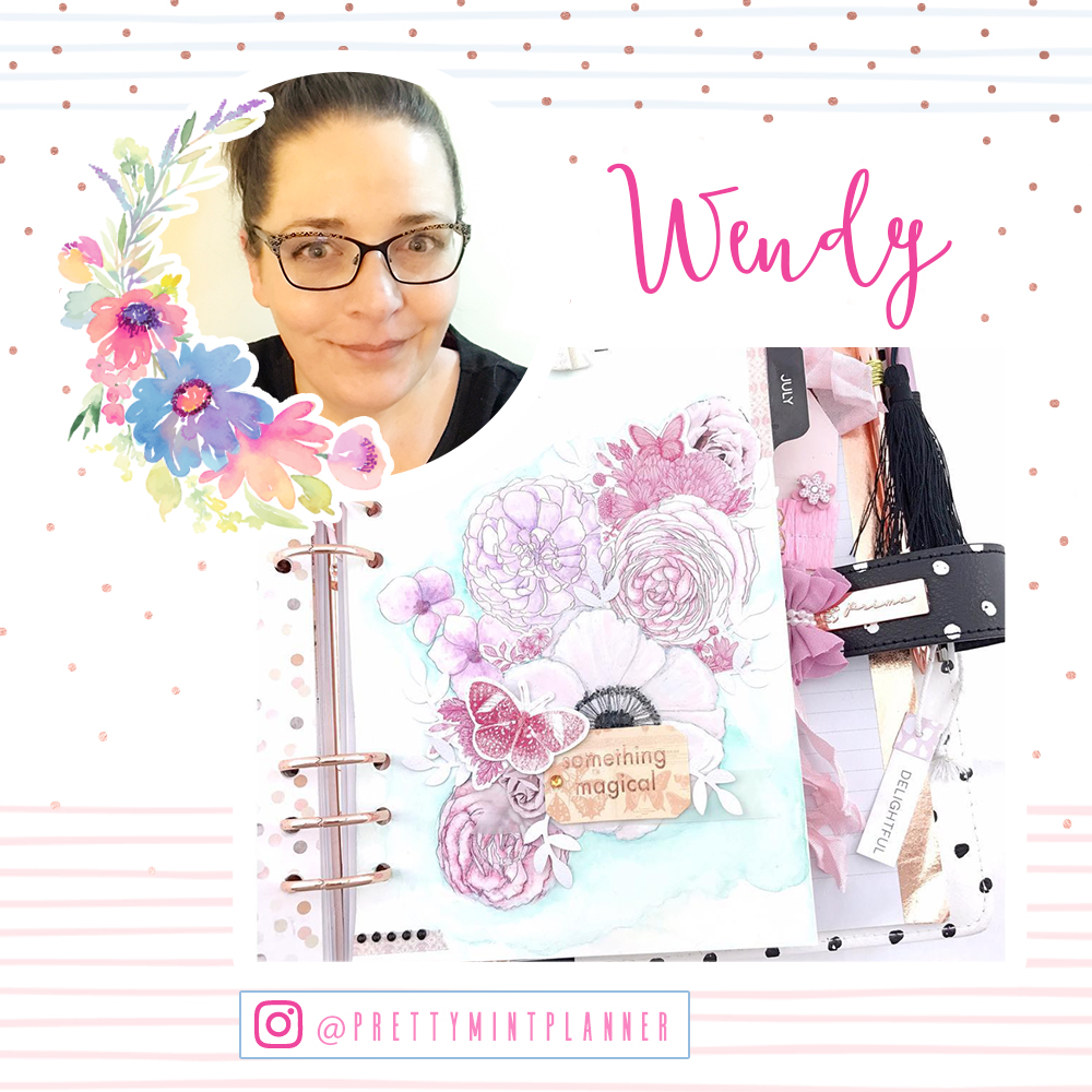 Welcome Wendy!  www.instagram.com/prettymintplanner/