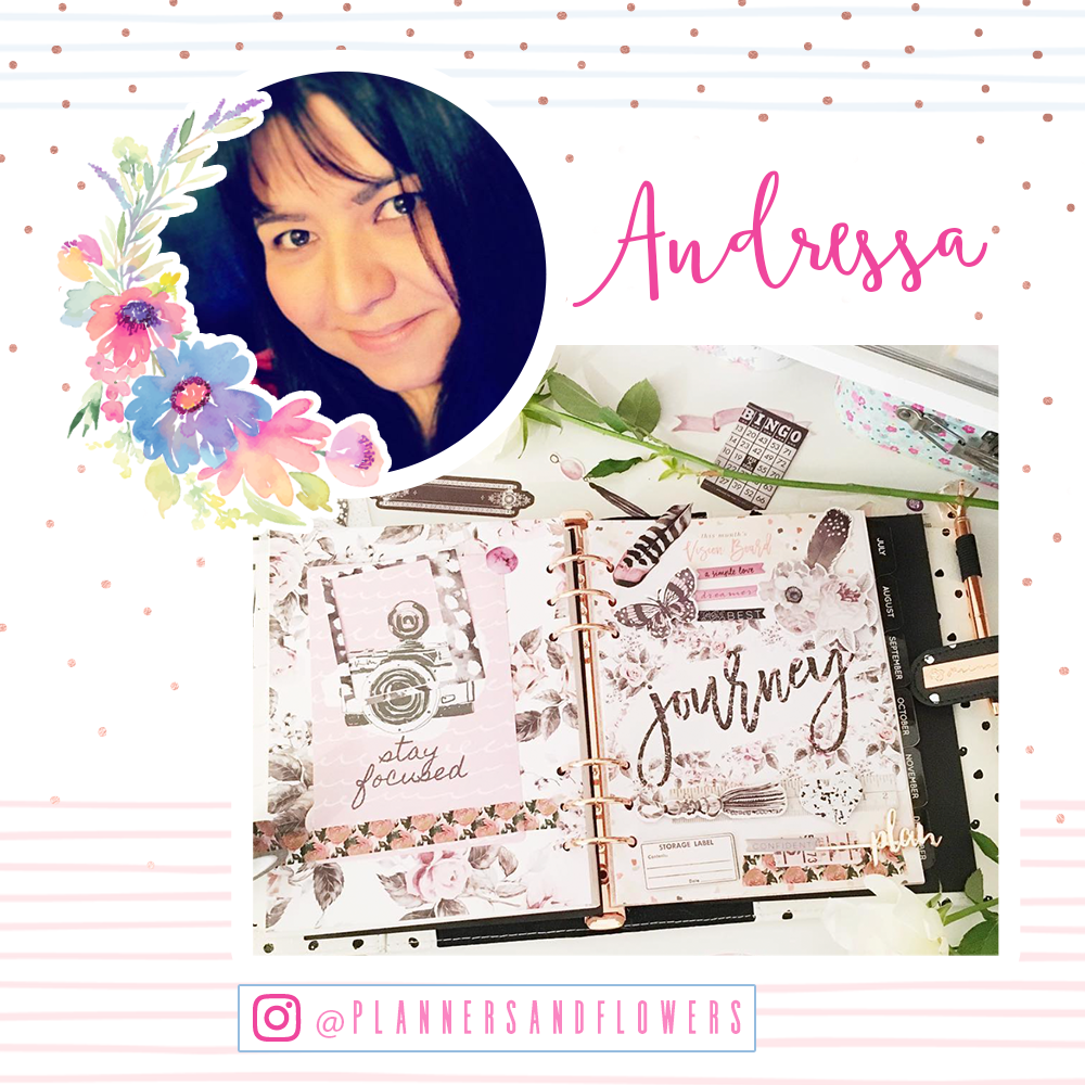 Welcome Andressa!  www.instagram.com/plannersandflowers/